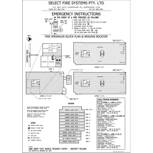 Rapid Engraving - Hydrant / Sprinkler Block Plans